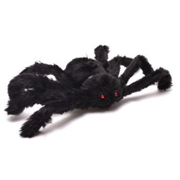 Парти аксесоар - черен паяк, подходяща за тематична декорация