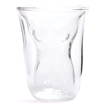 Забавна чаша с вграден торс на голо женско тяло