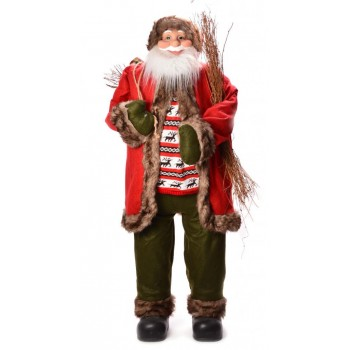 Декоративна фигура - Дядо Коледа с чувал