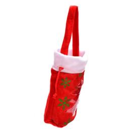 Коледна торбичка за подаръци, подходящ аксесоар към коледен костюм