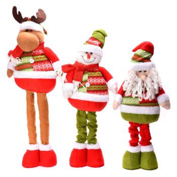 Декоративна фигура за коледна украса - елен, снежен човек и Дядо Коледа