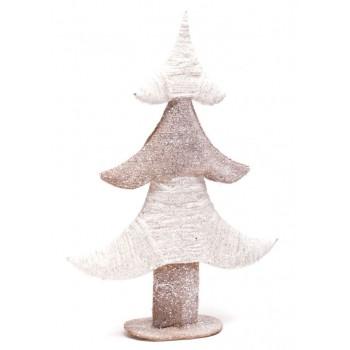 Стилна, блестяща фигура - елха, подходяща за коледна декорация
