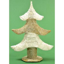 Декоративна фигура за коледна украса - елха