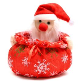 Коледна кошничка с джудже, подходяща за тематична декорация