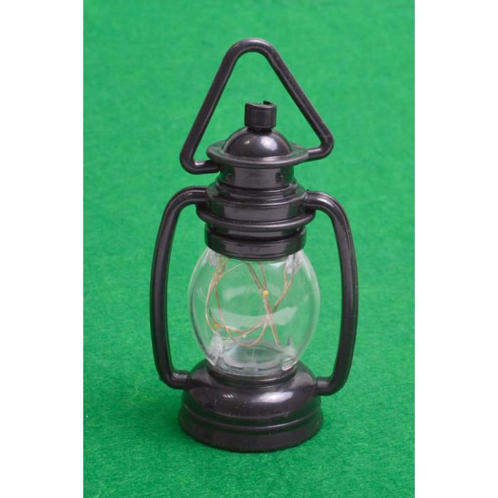 Декоративна, светеща фигурка - фенер, светещ в два цвята