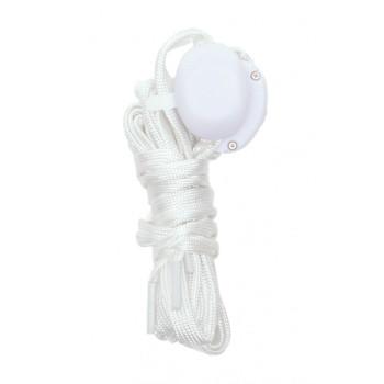 Светещи LED връзки за обувки - 2 бр - бели с бяла светлина
