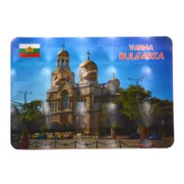 Сувенирна магнитна пластинка - Варненската катедрала