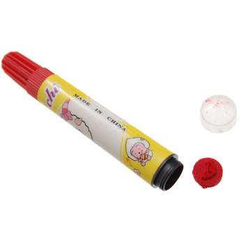 Комплект цветни флумастри с печат - 12 броя, опаковани в РVC кутия