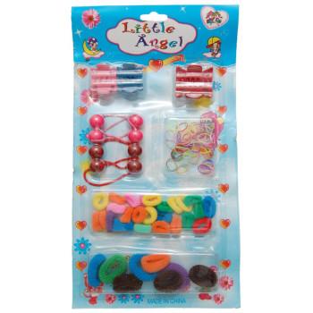 Комплект от 4 различни вида ластичета и 2 различни вида щипки