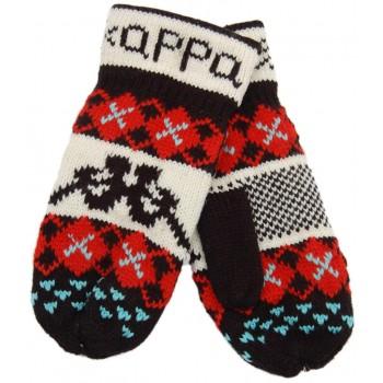Красиви плетени ръкавици с един пръст