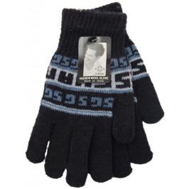 Меки плетени мъжки ръкавици с еластичен маншет