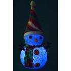 Снежен човек - светеща фигурка