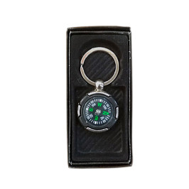 Метален ключодържател компас