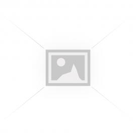 Диадема с двойна основа от цветна пластмаса и декоративно цвете